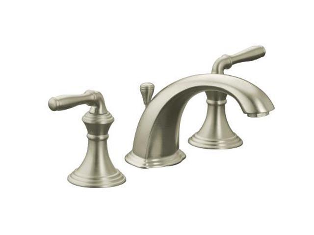 KOHLER K-394-4-BN Devonshire Widespread Lavatory Faucet