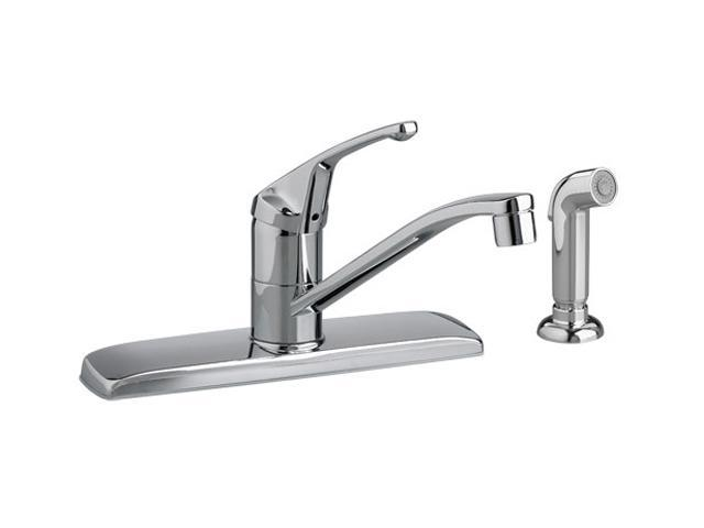 American Standard 4175.201.002 Colony Kitchen Faucet w/ Separate Spray Polished Chrome