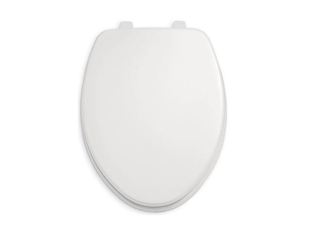 American Standard 5325.024.020 Rise and Shine Open Front Toilet Seat - White