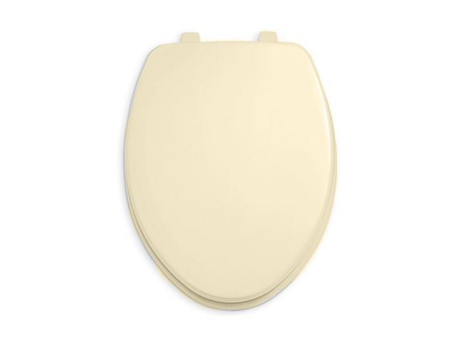 American Standard 5325.024.021 Rise and Shine Open Front Toilet Seat - Bone