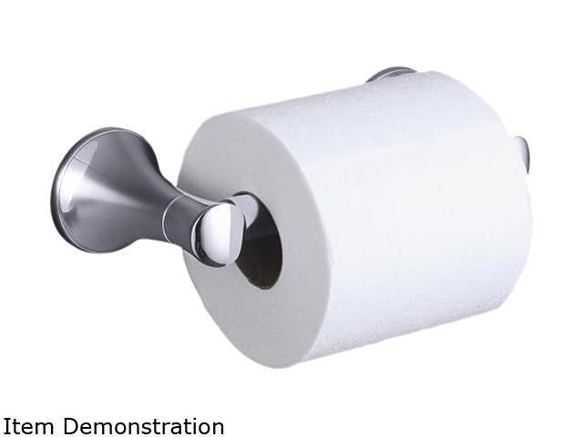 KOHLER K-13434-CP Coralais Toilet Tissue Holder - Polished Chrome