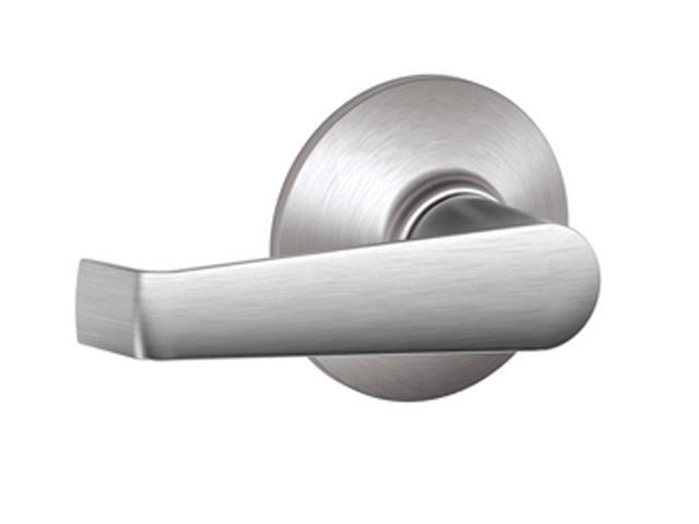 Schlage F10 ELA 626 Elan Door Lever - Satin Chrome