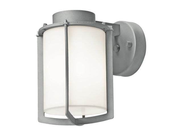 Access Lighting Totana Contemporary Satin Wet Location Wall Fixture - 1 Light Satin Finish w/ Opal Glass