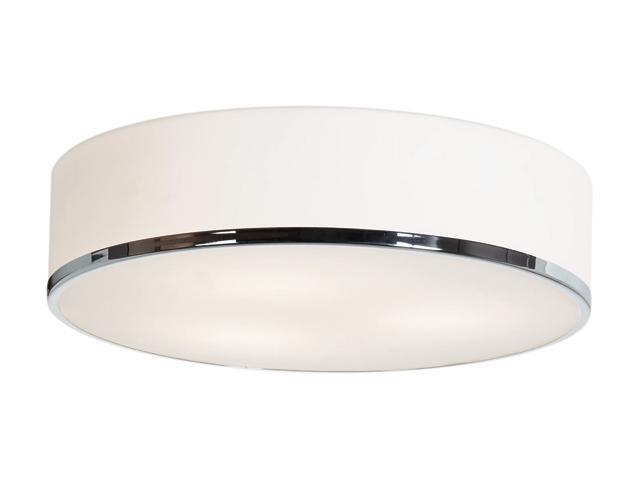 Access Lighting Aero Pendant - 3 Light Chrome Finish w/ Opal Glass