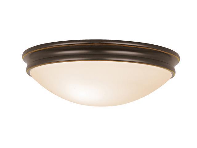 Access Lighting Atom Flush - 3 Light Oil Rubbed Bronze Finish w/ Opal Glass Oil-rubbed bronze Flush Mount Lighting