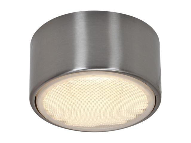 Access Lighting Ares Flush - 1 Light Brushed Steel Finish Brushed Steel Flush Mount Lighting