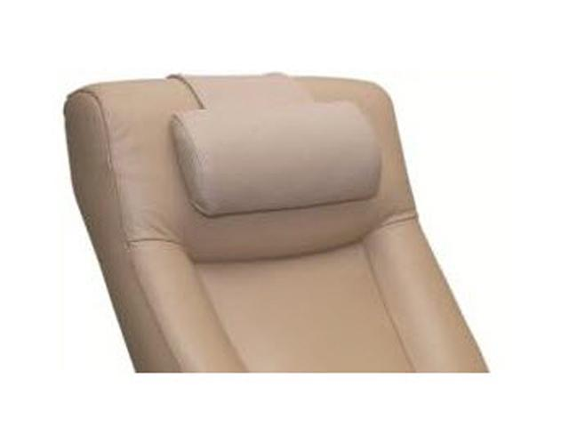 Oslo Collection Cobblestone Tan Top Grain Leather Cervical Pillow