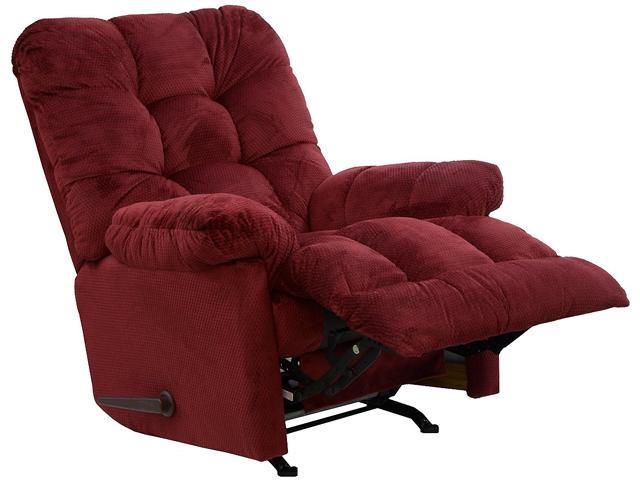Catnapper nettles merlot chaise rocker recliner deluxe for Chaise x rocker