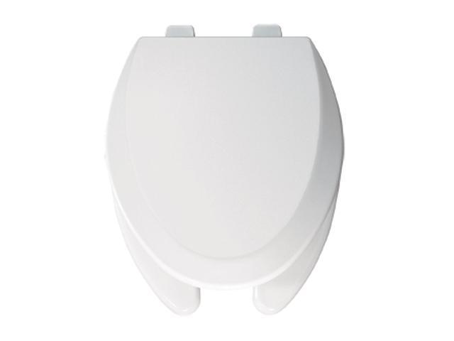 Bemis 595 000 Elongated Open Front Toilet Seat, White
