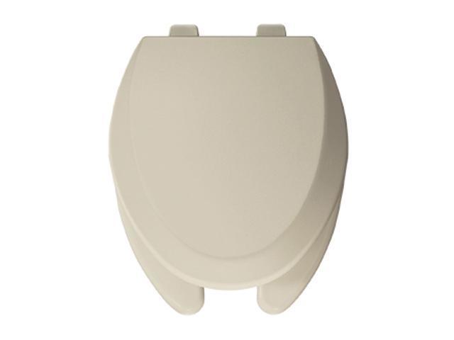 Bemis 595 006 Elongated Wood Toilet Seat, Bone