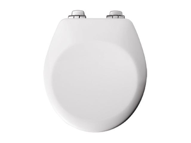 Bemis 840CHSL 000 Round Closed Front Toilet Seat, White