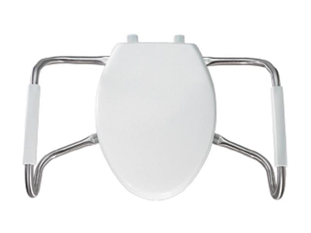 Bemis MA2100T 000 Medic-Aid Elongated Closed Front Toilet Seat, White