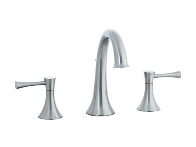 Cifial 245.150.620 Brookhaven Hi-Arch Widespread Lavatory Faucet Satin Nickel