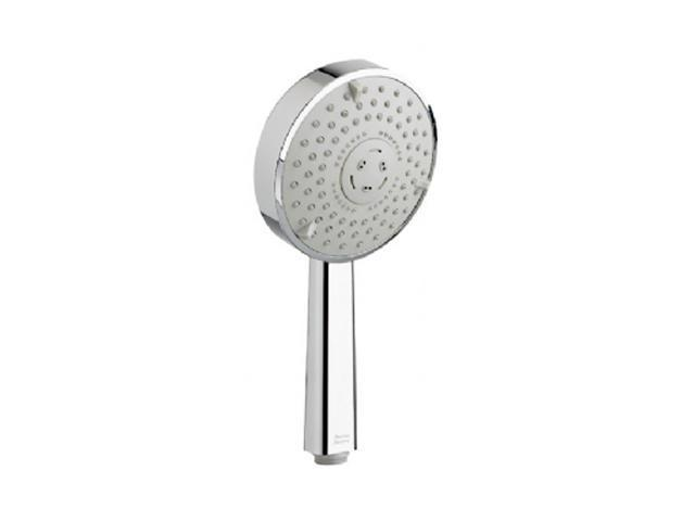 """American Standard 1660.550.002 3 Function Rain Hand Shower with Easy Clean, 4-3/4"""" Diameter, Polished Chrome"""