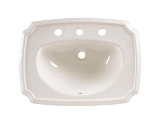 American Standard 0558.017.020 Antiquity Countertop Sink with 8