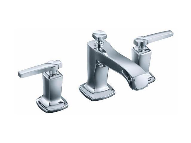 KOHLER K-16232-4-CP Margaux Lavatory Faucet with Lever Handles