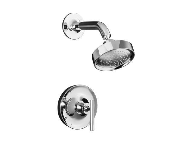 KOHLER K-T14422-4-CP Purist Rite-temp Pressure-balancing Shower Faucet Trim, Valve Not Included