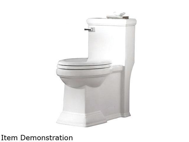 American Standard 2847.128.020 Town Square FloWise Right Height Elongated One-Piece Toilet