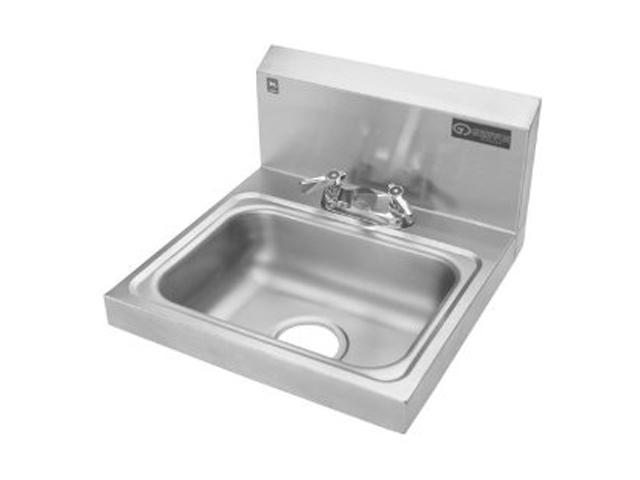 Griffin H30-224C Hand Wash Wall-Mounted Sink with Faucet-Newegg.com
