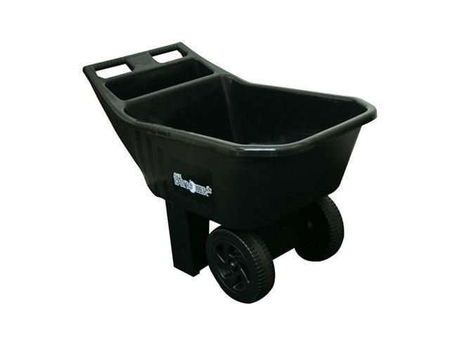 Ames True Temper 2463675 Easy Roller Jr. 3 Cubic Foot Poly Yard Cart