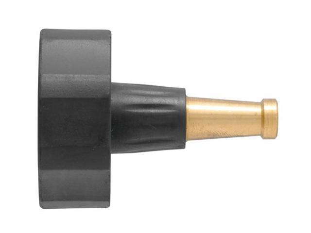Orbit brass water hose sweeper nozzle for yard cleanup