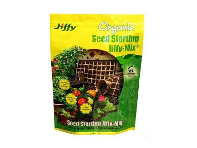 Jiffy 4 Quart Organic Seed Starting Mix