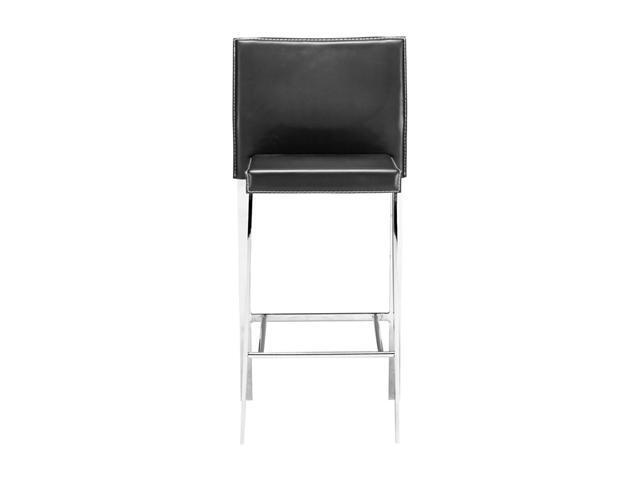 Zuo Modern Boxter Counter Chair Black