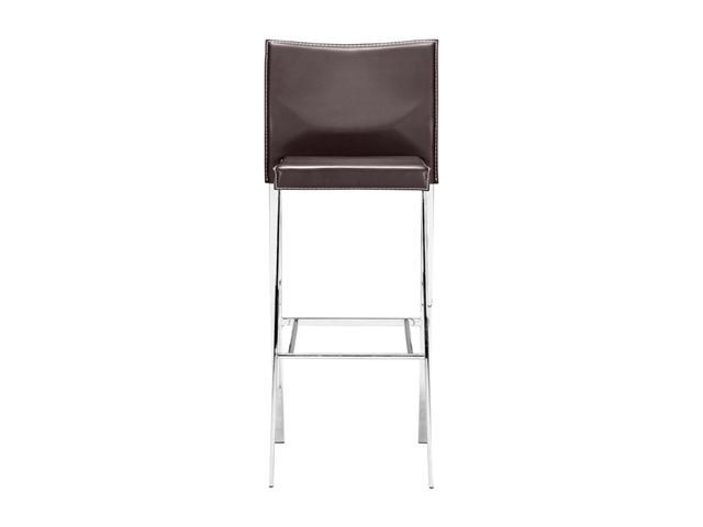 Zuo Modern Boxter Bar Chair Espresso