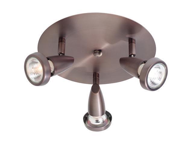 Access Lighting 52221-BRZ Mirage 3 Light Swivel Spot - Bronze