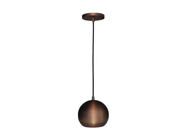 Access Lighting Retro Ball Pendant - 1 Light Bronze Finish