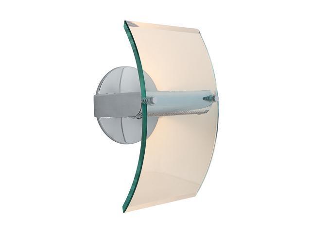 Access Lighting Phoebe Wall Fixture - 1 Light Chrome Finish w/ 8mm Clear Glass Glass