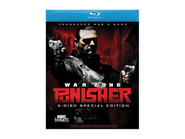 Punisher: War Zone (2-Disc Special Edition) (Blu-ray / 2008) Ray Stevenson, Doug Hutchison, Wayne Knight, Colin Salmon, Julie ...