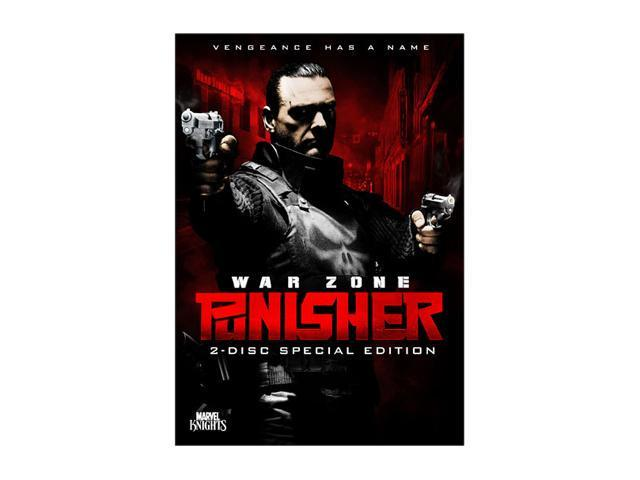 Punisher: War Zone (Two-Disc Special Edition) (2008 / DVD) Ray Stevenson, Dominic West, Wayne Knight, Colin Salmon, Julie Benz