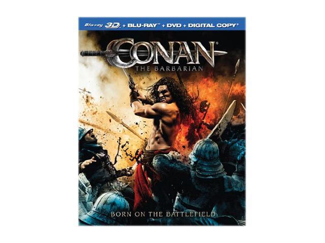 Conan the Barbarian (3D Blu-ray + DVD + Digital Copy + Blu-ray)