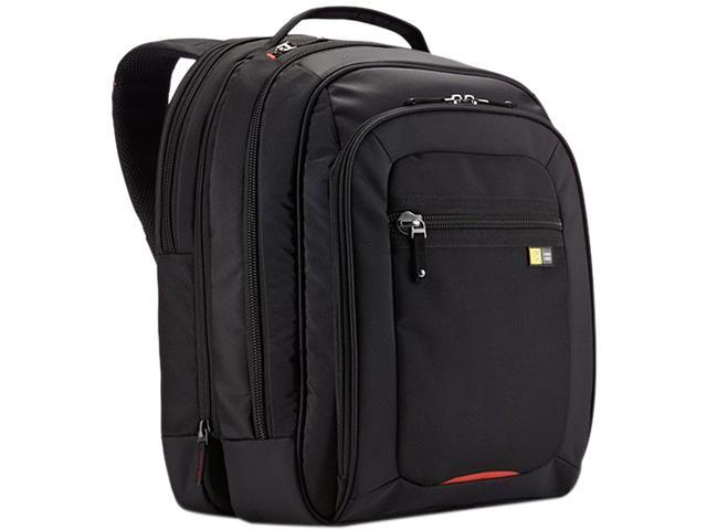 "Case Logic Black Laptop Backpack - Fits Notebook PCs up to 16"" Model ZLBS-216BLACK"