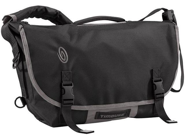 Timbuk2 D-Lux Messenger Black/Gunmetal 157-2-6023 up to 13 inches -S