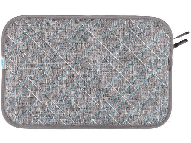 Timbuk2 Plush Layer Sleeve Grey/Cold Blue 304-11N-2211 up to 11 inches -S