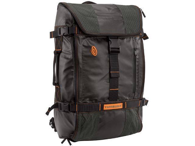 Timbuk2 Carbon/Carbon Ripstop Aviator Travel Backpack Model 538-4-2201 Size M