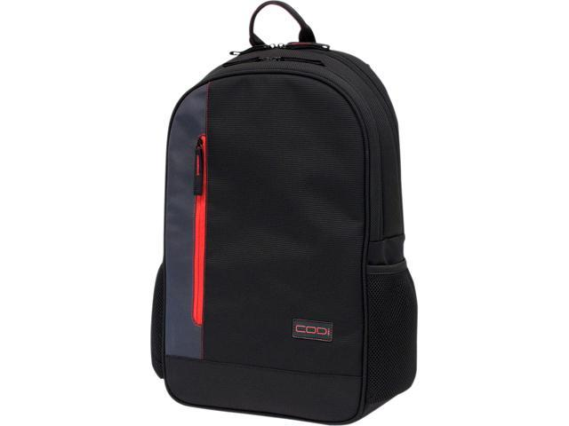 "CODi Black/Red UltraLite 17"" Laptop Backpack C7770"