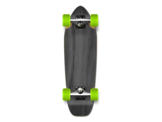 "CompleteLongboardMiniCruiser/BananaCruiserSkateboard27""X8""-Black"