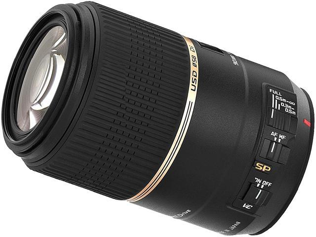 Tamron SP 90mm f/2.8 Di VC USD Macro Lens for Canon Cameras