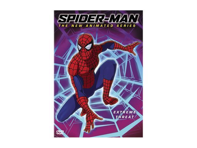 Spider-Man - The New Animated Series - Extreme Threat (Vol. 4) (2003 / DVD) Neil Patrick Harris, Lisa Loeb, Ian Ziering, Angelle Brooks, SuChin Pak