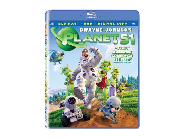 Planet 51(BR / DVD / DC / WS / DD 5.1 / ENG-SP-TURK-SUB / GER-Both) Dwayne Johnson, Jessica Biel, Justin Long, Gary Oldman, ...