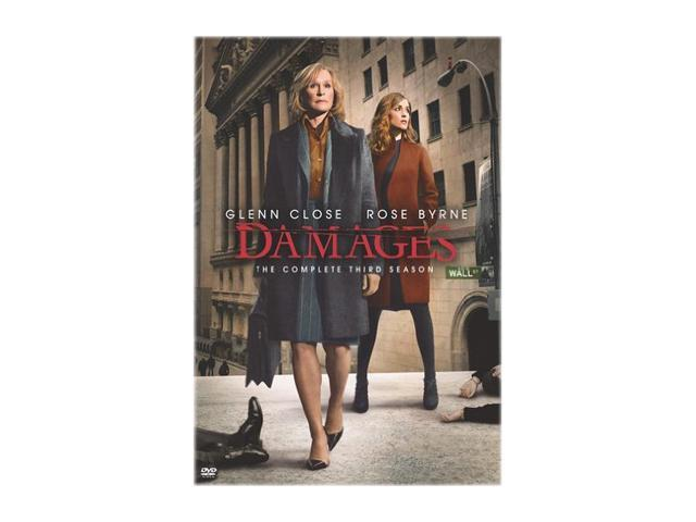 Damages: The Complete Third Season (DVD/WS/NTSC) Glenn Close, Rose Byrne, Tate Donovan, Lily Tomlin, Keith Carradine