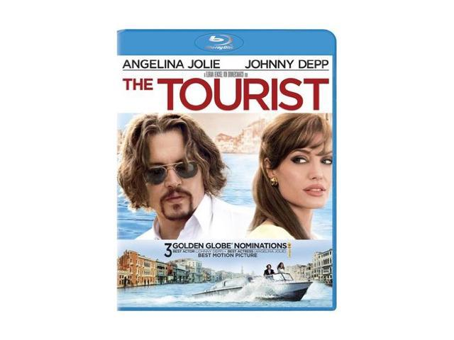 The Tourist (Blu-ray/WS) Angelina Jolie, Johnny Depp, Paul Bettany, Timothy Dalton, Rufus Sewell