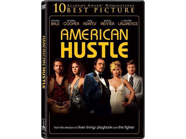 American Hustle (DVD) Christian Bale, Bradley Cooper, Jeremy Renner, Amy Adams, Louis C.K.