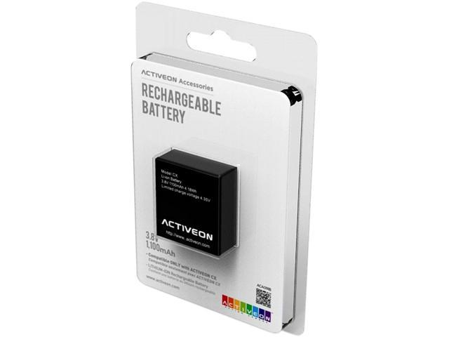 ACTIVEON ACA01RB Rechargeable Battery For CX
