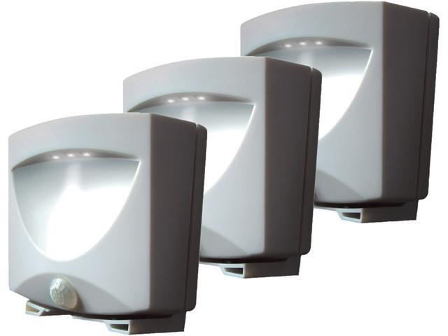 Maxsa Innovations 43341 Outdoor Night Light ,Bronze, 3-Pack