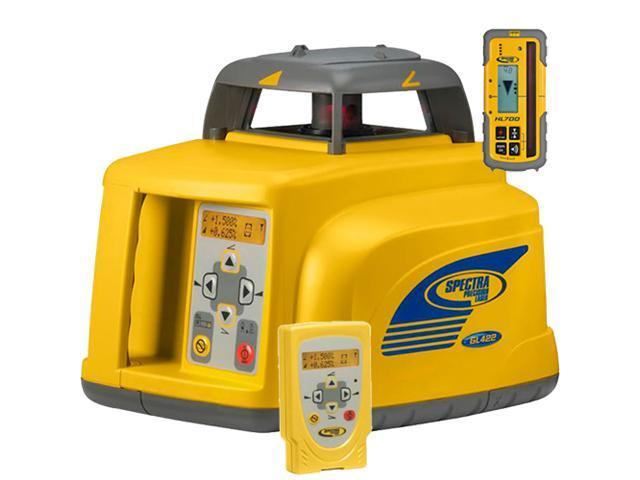 Trimble Spectra Precision GL412 Grade Lasers w/ CR600, Remote Ccontrol , Nimh batteries