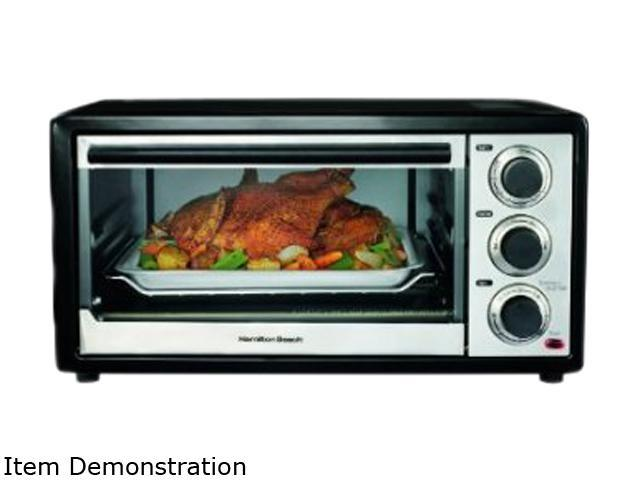 Hamilton Beach 31506 Convection 6 Slice/Broiler Toaster Oven